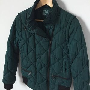 Marc New York Teal Green Down Jacket - Andrew Marc